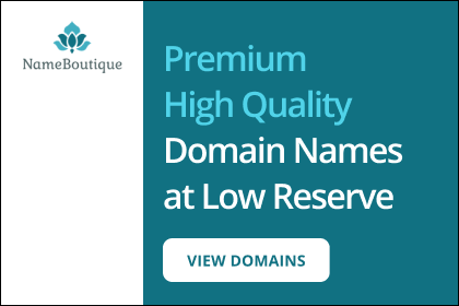 Premium High Quality Domain Names at Low Reserve